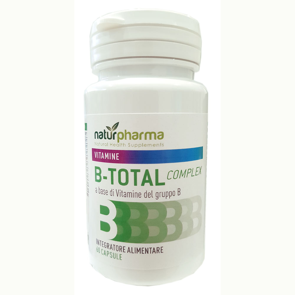 B TOTAL COMPLEX NATURPHARMA 60 CAPSULE