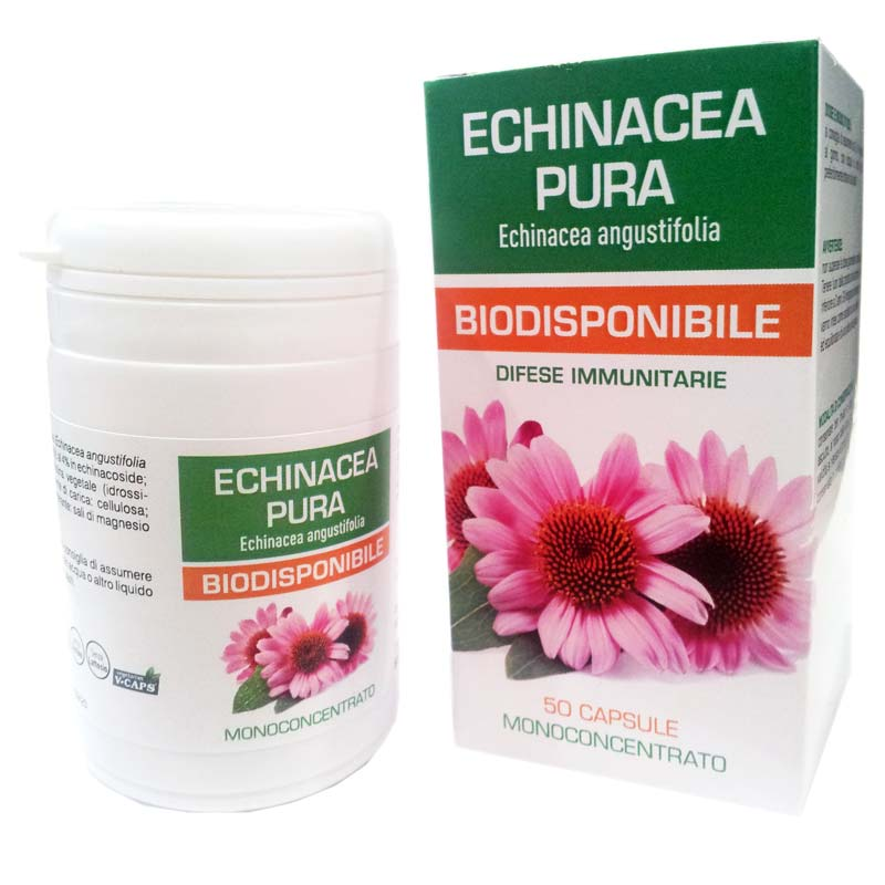 ECHINACEA PURA BIODISPONIBILE 50 CAPSULE DA 500 MG