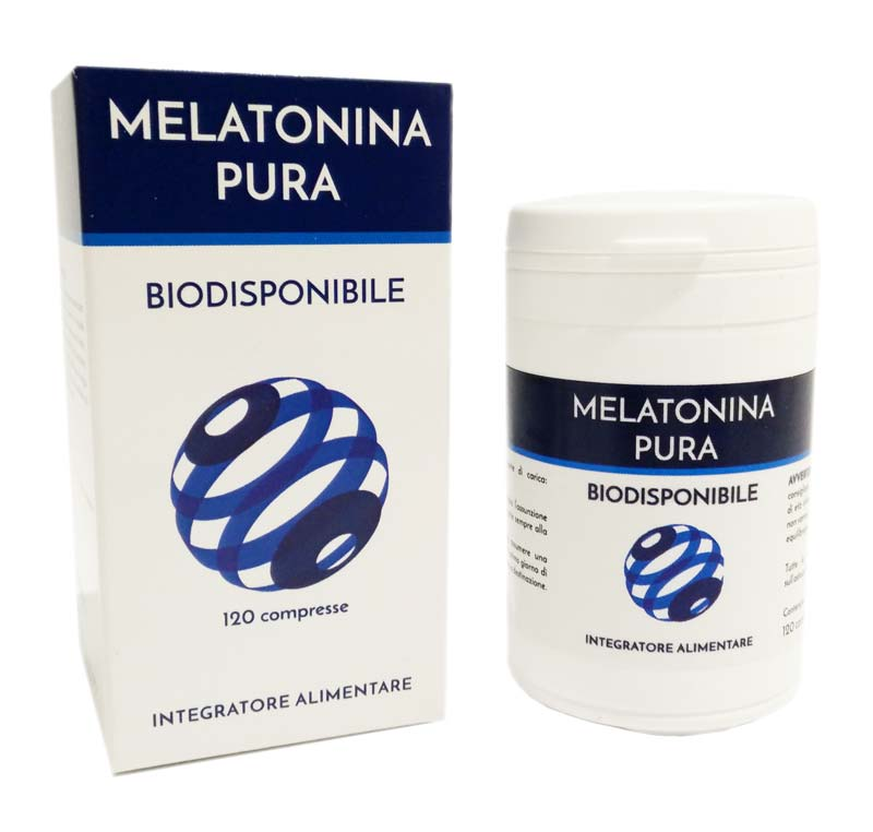 MELATONINA PURA BIODISPONIBILE 120 COMPRESSE DA 300 MG