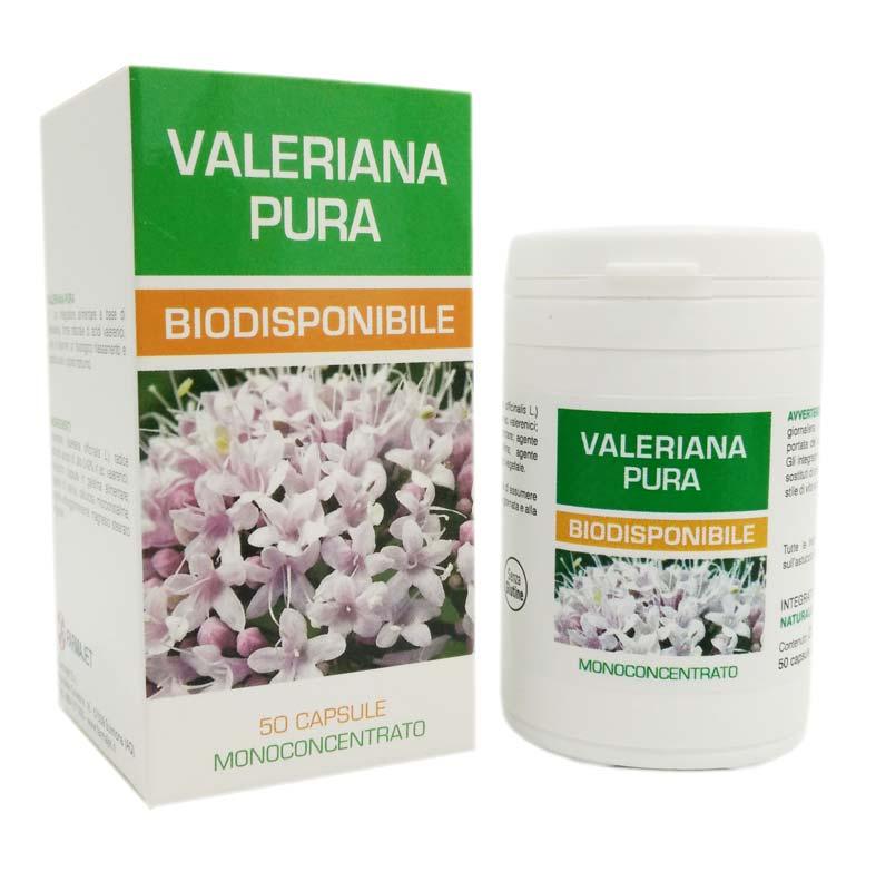 VALERIANA PURA BIODISPONIBILE 50 CAPSULE DA 500 MG